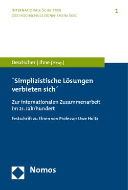 'Simplizistische Lösungen verbieten sich' von Deutscher,  Eckhard, Ihne,  Hartmut