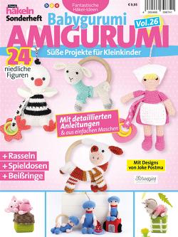 Simply Häkeln Sonderheft Babygurumi: Amigurumi Vol. 26 von Postma,  Joke