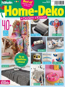 Simply Häkeln Best of HOME-DEKO + Decken + Kissen von Buss,  Oliver