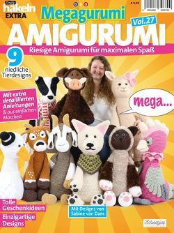 Simply Häkeln EXTRA: Megagurumi! AMIGURUMI Vol. 27 von von Dam,  Sabine
