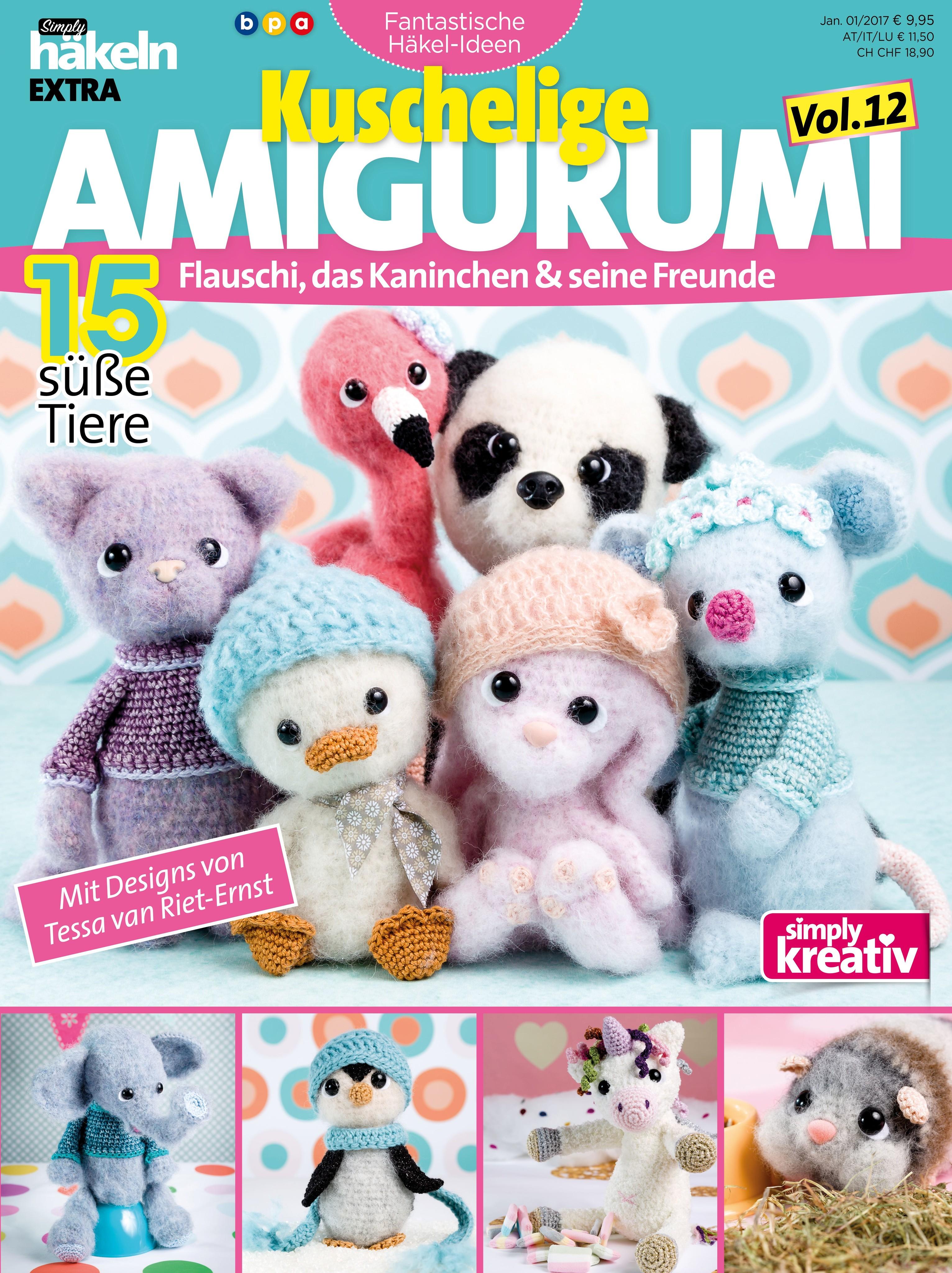 Simply Häkeln Fantastische Häkel Ideen Kuschelige Amigurumi Vol