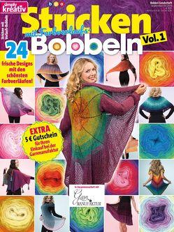simply kreativ – Stricken mit Farbverlaufs-Bobbeln, Vol. 1 von bpa media GmbH, Buss,  Oliver