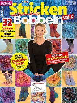 simply kreativ Stricken mit Farbverlaufs-Bobbeln Volume 2 von bpa media GmbH, Buss,  Oliver