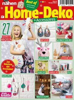 Simply Nähen Best of Home-Deko + Accessoires von Buss,  Oliver