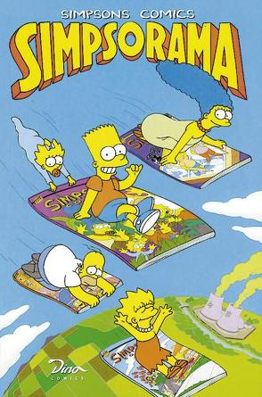 Simpsons Comics von Groening,  Matt, Morrison,  Bill