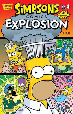 Simpsons Comics Explosion von Groening,  Matt, Morrison,  Bill, Wieland,  Matthias