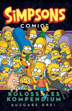 Simpsons Comics Kolossales Kompendium von Groening,  Matt, Morrison,  Bill