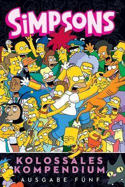 Simpsons Comics Kolossales Kompendium von Groening,  Matt, Morrison,  Bill, Wieland,  Matthias