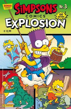 Simpsons Comics Explosion von Groening,  Matt, Wieland,  Matthias