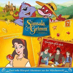 SimsalaGrimm – CD / 07: Schneewittchen / Tischlein deck dich von Döring,  Klaus, Mädel,  Michael, Martens,  Heiko, Sahling,  Karsten, Schnitzler,  Harry