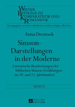 Simson-Darstellungen in der Moderne von Dremsek,  Anna