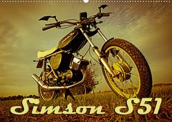 Simson S51 (Wandkalender 2021 DIN A2 quer) von Sängerlaub,  Maxi