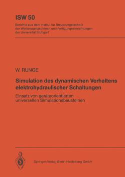 Simulation des dynamischen Verhaltens elektrohydraulischer Schaltungen von Runge,  Wolfgang