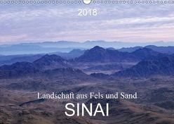 Sinai – Landschaft aus Fels und SandCH-Version (Wandkalender 2018 DIN A3 quer) von T. Frank,  Roland