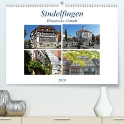Sindelfingen – Historische Altstadt (Premium, hochwertiger DIN A2 Wandkalender 2020, Kunstdruck in Hochglanz) von Huschka,  Klaus-Peter