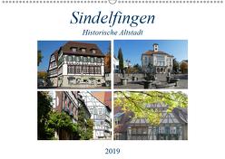 Sindelfingen – Historische Altstadt (Wandkalender 2019 DIN A2 quer) von Huschka,  Klaus-Peter