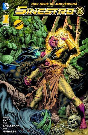 Sinestro von Bunn,  Cullen, Eaglesham,  Dale, Morales,  Rags