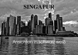 Singapur Ansichten in schwarz weiß (Wandkalender 2020 DIN A2 quer) von Wittstock,  Ralf