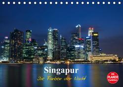 Singapur – Die Farben der Nacht (Tischkalender 2020 DIN A5 quer) von Wittstock,  Ralf