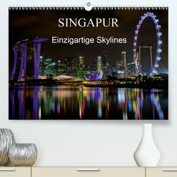 Singapur – Einzigartige Skylines (Premium, hochwertiger DIN A2 Wandkalender 2020, Kunstdruck in Hochglanz) von Wittstock,  Ralf