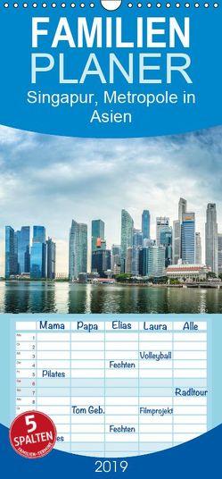 Singapur, Metropole in Asien – Familienplaner hoch (Wandkalender 2019 , 21 cm x 45 cm, hoch) von Gödecke,  Dieter