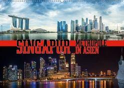 Singapur, Metropole in Asien (Wandkalender 2018 DIN A2 quer) von Gödecke,  Dieter