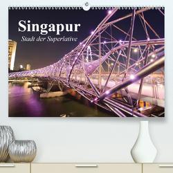 Singapur. Stadt der Superlative (Premium, hochwertiger DIN A2 Wandkalender 2020, Kunstdruck in Hochglanz) von Stanzer,  Elisabeth