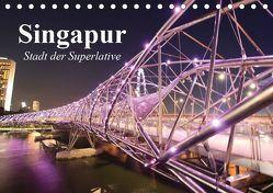 Singapur. Stadt der Superlative (Tischkalender 2019 DIN A5 quer) von Stanzer,  Elisabeth