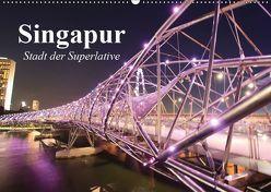 Singapur. Stadt der Superlative (Wandkalender 2019 DIN A2 quer) von Stanzer,  Elisabeth