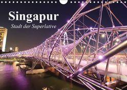 Singapur. Stadt der Superlative (Wandkalender 2019 DIN A4 quer) von Stanzer,  Elisabeth
