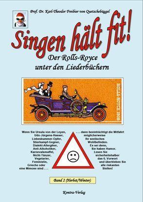 Singen hält fit! (Band 2 Herbst / Winter) von Freibier von Quetschebüggel,  Karl-Theodor