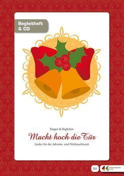 """Singen und Musizieren mit Senioren: """"Macht hoch die Tür"""" – Advents- und Weihnachtslieder, Liederheft von Adler,  Michaela, Molz,  Evamaria"""