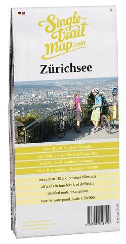 Singletrail Map 005 Zürichsee von Giger,  Thomas