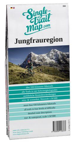 Singletrail Map 032 Jungfrauregion von Giger,  Thomas