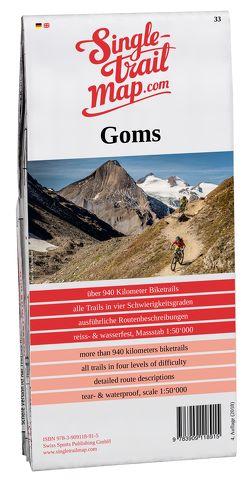 Singletrail Map 033 Goms/Aletsch von Giger,  Thomas