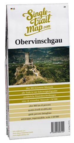 Singletrail Map 049 Obervinschgau von Giger,  Thomas