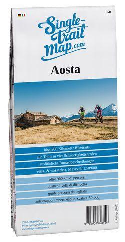 Singletrail Map 050 Aosta von Giger,  Thomas