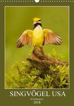 Singvögel USA (Wandkalender 2018 DIN A3 hoch) von birdimagency,  BIA