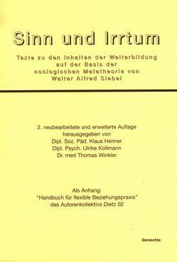 Sinn und Irrtum von Heimer,  Klaus, Kollmann,  Ulrike, Winkler,  Thomas