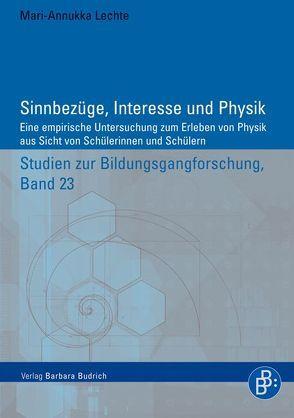 Sinnbezüge, Interesse und Physik von Lechte,  Mari-Annukka