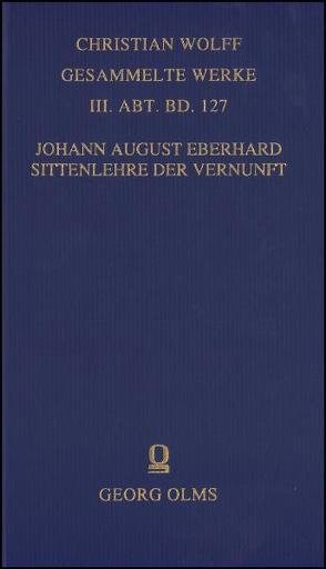 Sittenlehre der Vernunft von Eberhard,  Johann August