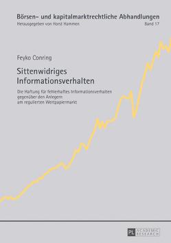 Sittenwidriges Informationsverhalten von Conring,  Feyko