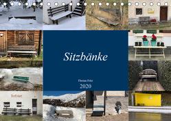 Sitzbänke (Tischkalender 2020 DIN A5 quer) von Fritz,  Florian