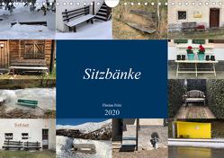 Sitzbänke (Wandkalender 2020 DIN A4 quer) von Fritz,  Florian