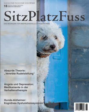 SitzPlatzFuss, Ausgabe 16 von Cadmos Verlag