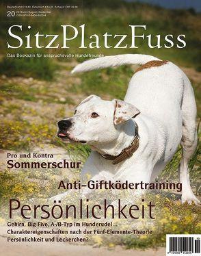 SitzPlatzFuss Ausgabe 20 von Cadmos Verlag