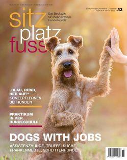 SitzPlatzFuss, Ausgabe 33 von Cadmos Verlag
