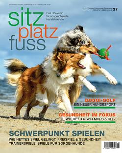 SitzPlatzFuss, Ausgabe 37 von Cadmos Verlag