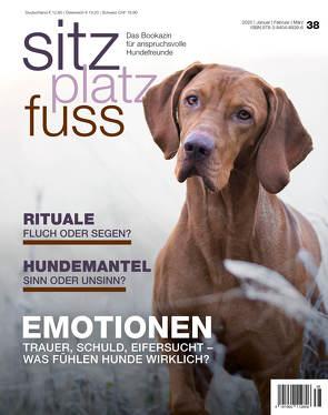 SitzPlatzFuss, Ausgabe 38 von Cadmos Verlag