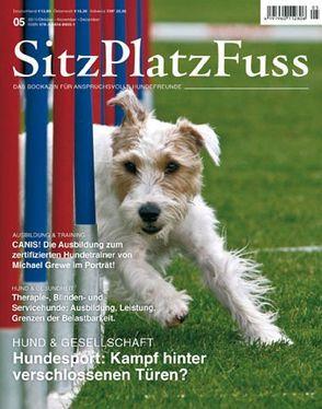 SitzPlatzFuss, Ausgabe 5 von Cadmos Verlag